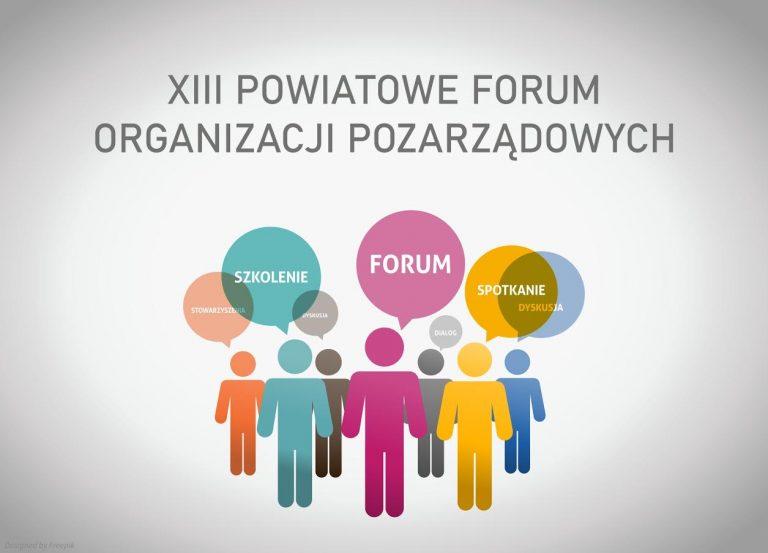 9 grudnia, Nowy Sącz: Powiatowe Forum Organizacji Pozarządowych