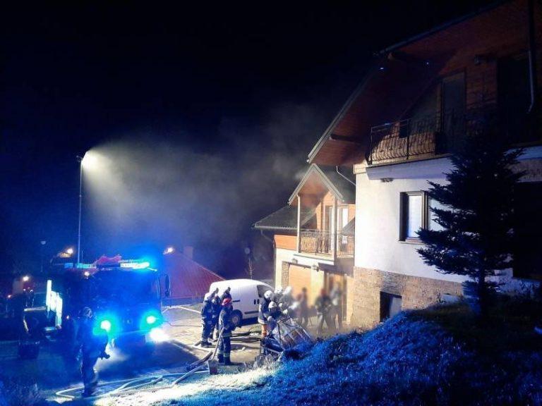 Powroźnik: w domowej kotłowni wybuchł pożar