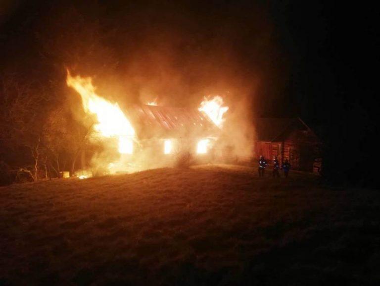 Piwniczna-Zdrój: pożar domku letniskowego. Prawdopodobnie był to wybryk podpalacza