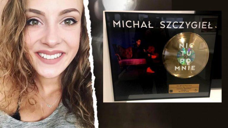 Złota Płyta Michała Szczygła na licytacji dla Mai – finalistki The Voice of Poland