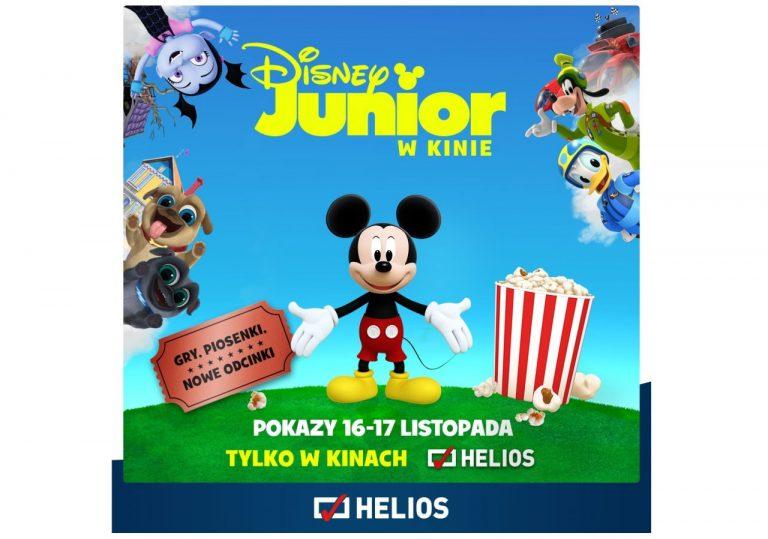 Disney Junior w kinie Helios. Kto chce bilety?