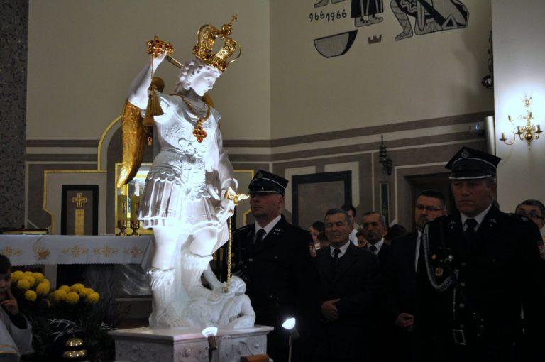 Korzenną nawiedziła figura św. Michała Archanioła