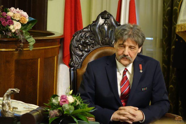 Jerzy Giza honorowym obywatelem miasta Nowego Sącza [ZDJĘCIA, FILM]