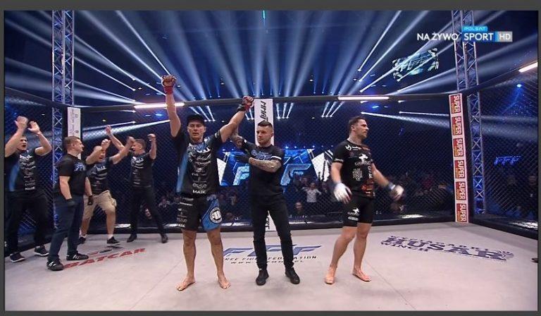 Ale debiut! Sądeczanin Piotr Świerczewski zwyciężył w MMA