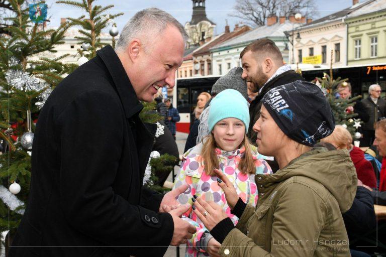 Nowy Sącz: tradycyjny opłatek z prezydentem już za nami