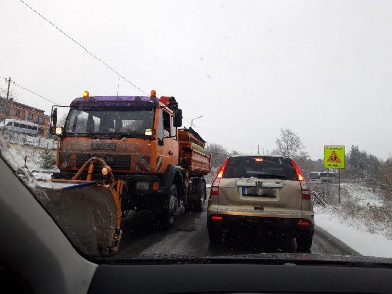 Uwaga kierowcy! Bardzo złe warunki na drogach