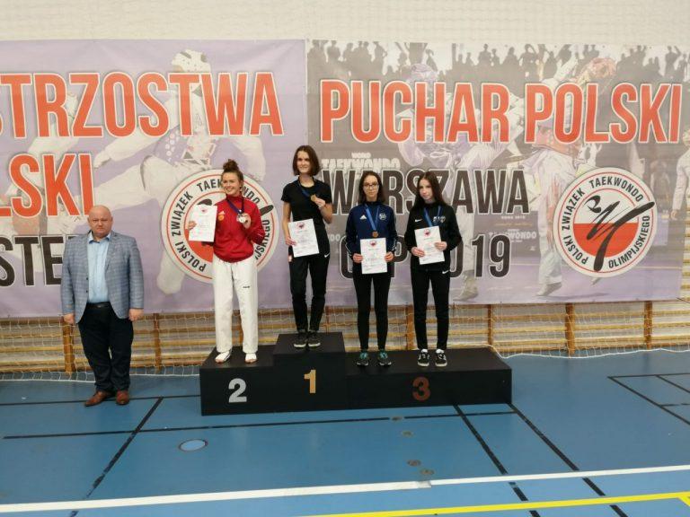 Kryniczanka z brązowym medalem Pucharu Polski w Taekwondo