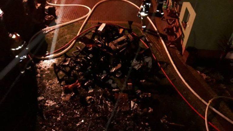 Nowy Sącz: nie wiadomo, co było przyczyną pożaru na Małej Górze