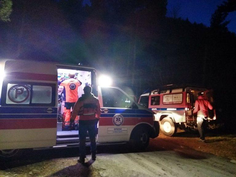 Ratownicy GOPR ruszyli na pomoc pracownikowi schroniska na Cyrli