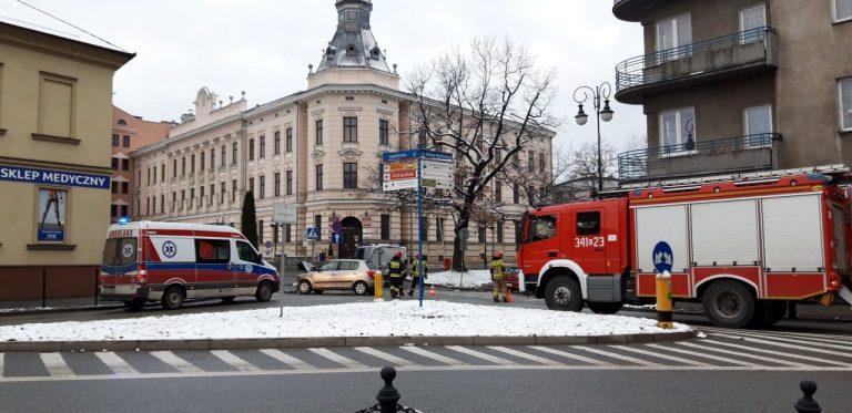 Z ostatniej chwili: zderzenie osobówek na skrzyżowaniu Jagiellońskiej i Mickiewicza