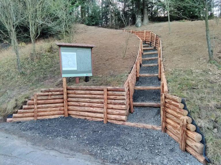 Dzięki pasjonatom w gminie Stary Sącz można zwiedzać kolejny schron