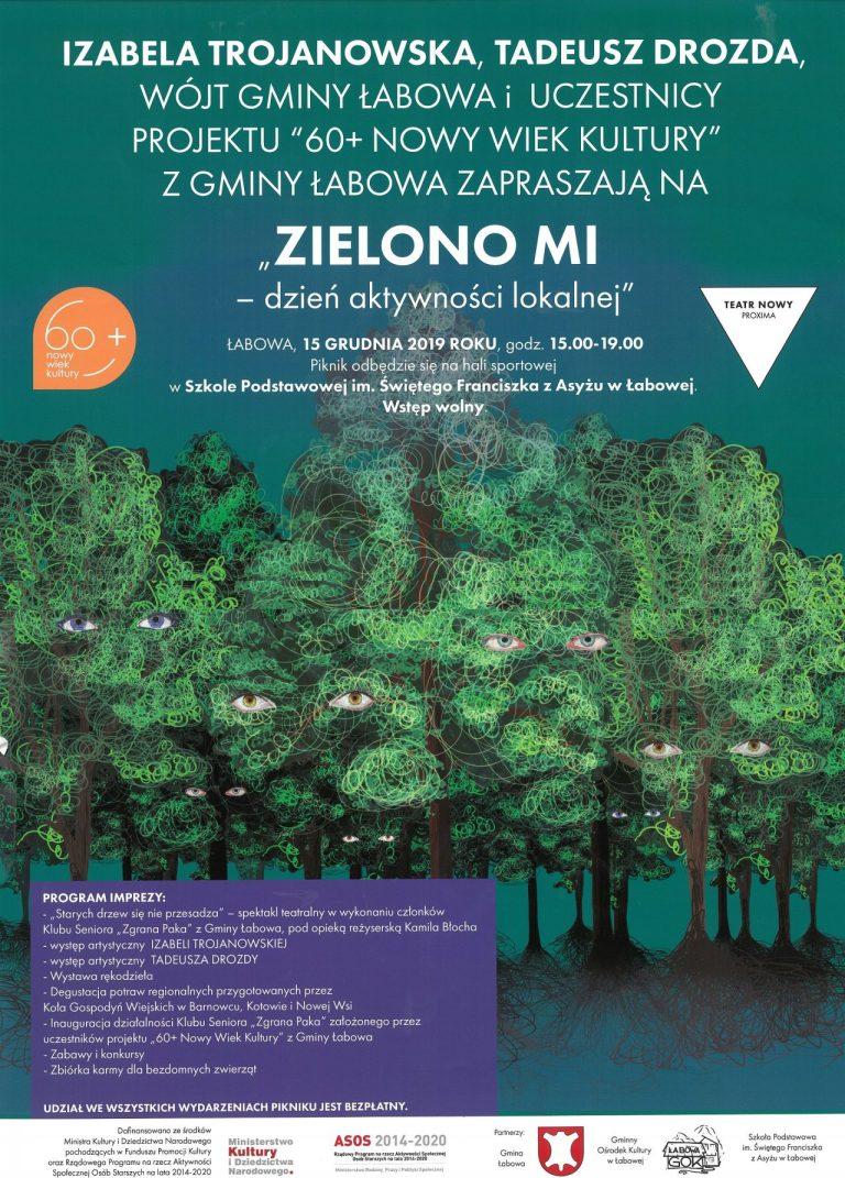 15 grudnia, Łabowa: Zielono mi! – dzień aktywności lokalnej