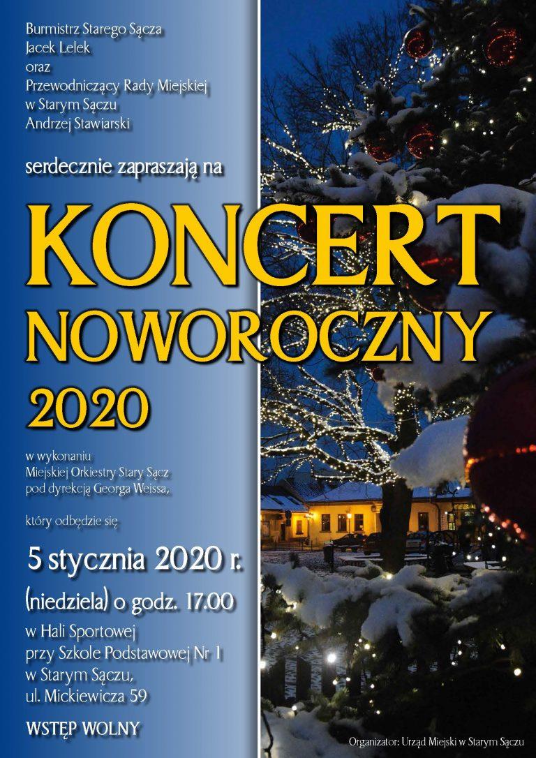 5 stycznia, Stary Sącz: Koncert Noworoczny