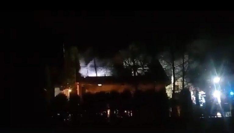 Nowy Sącz: strażacy walczyli z dwoma pożarami w tym samym czasie [film]