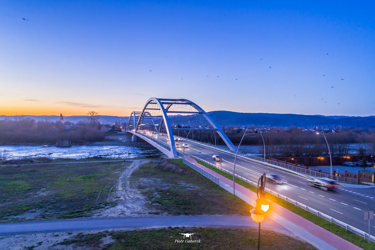 Most Heleński nad Dunajcem