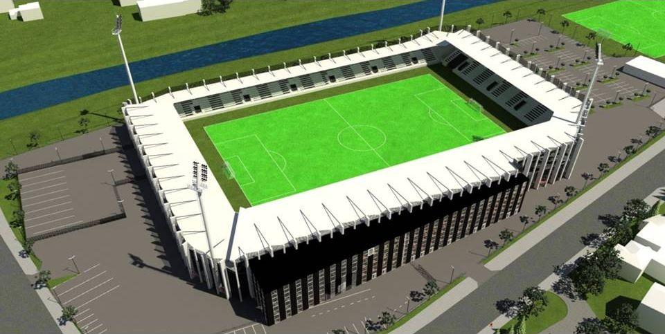 wizualizacja stadion Sandecji