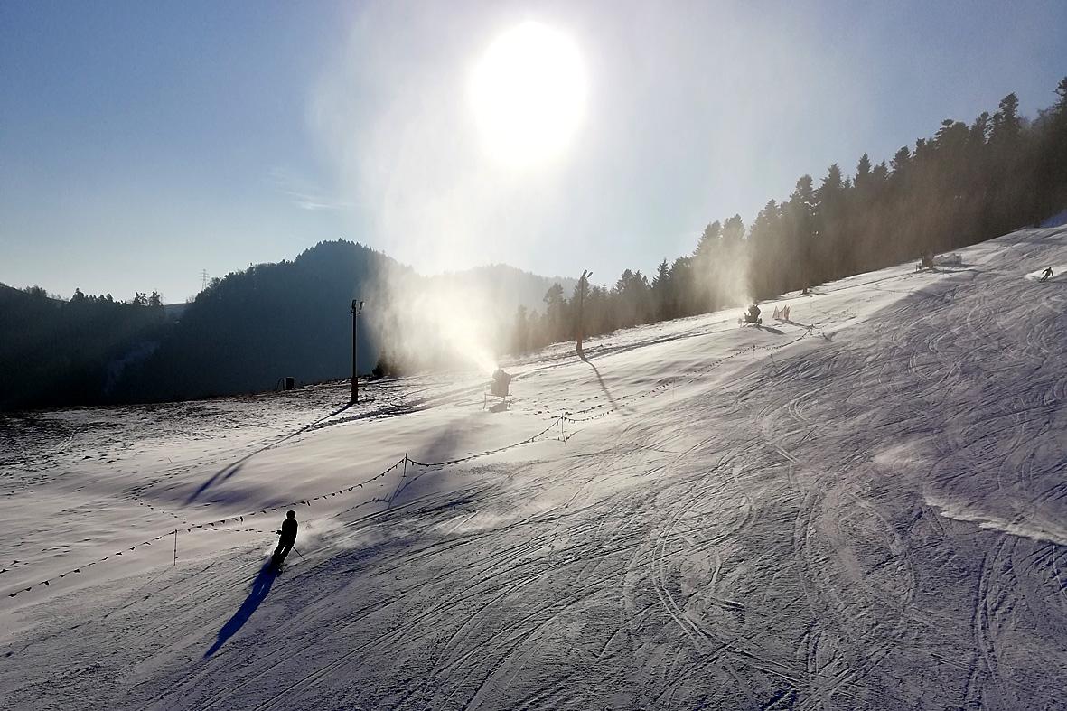 RyterSKI, stok narciarski