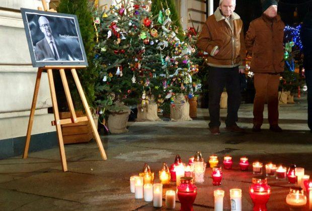 uczcili pamięć Pawła Adamowicza, Nowy Sącz