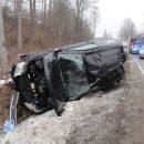 Wypadek przy ul Lipowej w Muszynie