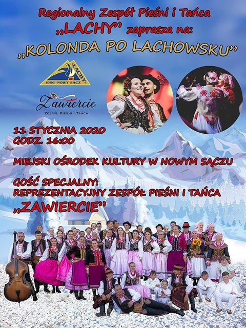 """11 stycznia, Nowy Sącz: """"Kolonda po lachowsku"""""""