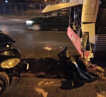 Wypadek przy ul. Nadbrzeżnej