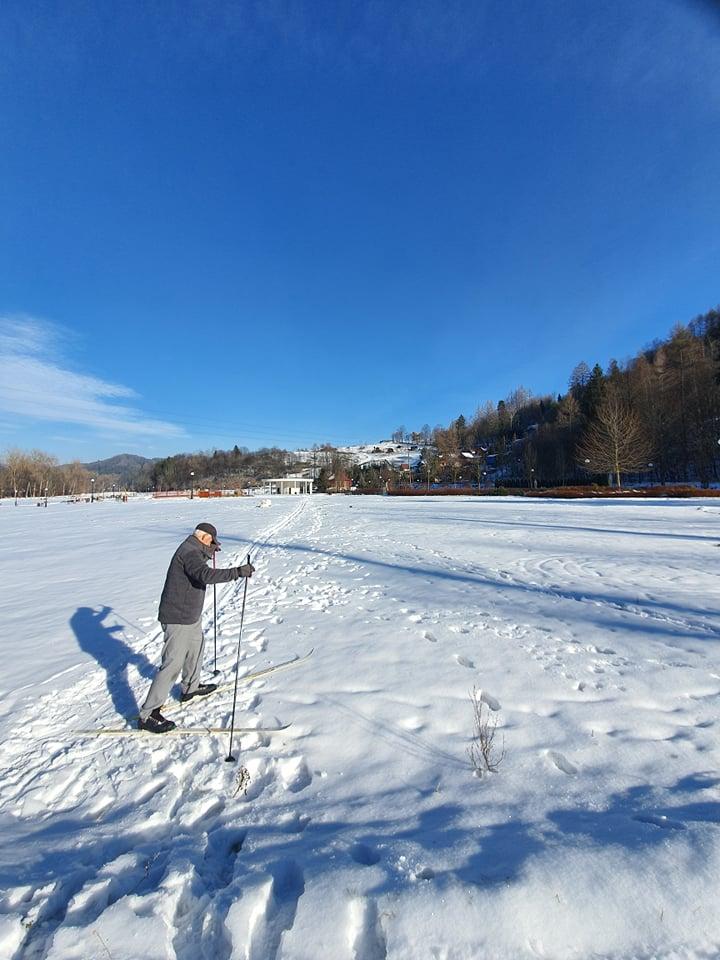 Człowiek na nartach, Muszyna