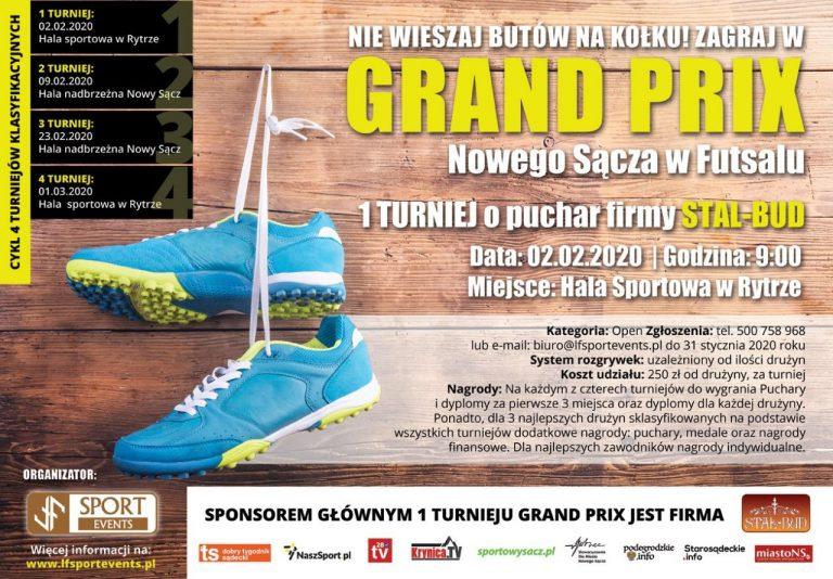 Futsal. Startuje Grand Prix! Zapisy trwają