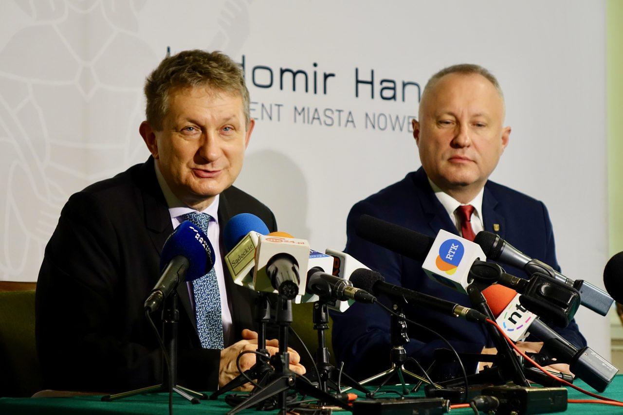 Grzegorz Tabasz, Ludomir Handzel