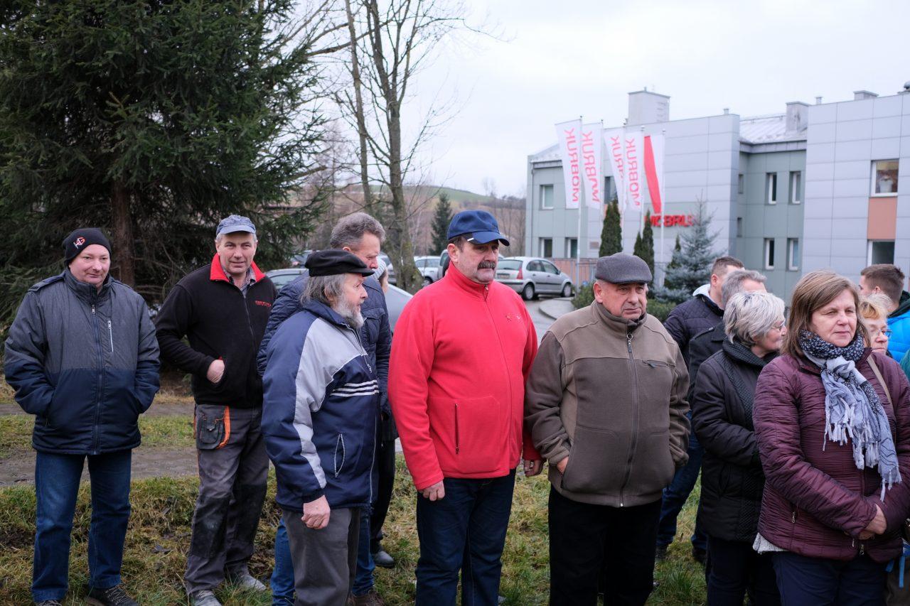 MOBRUK protest mieszkańców