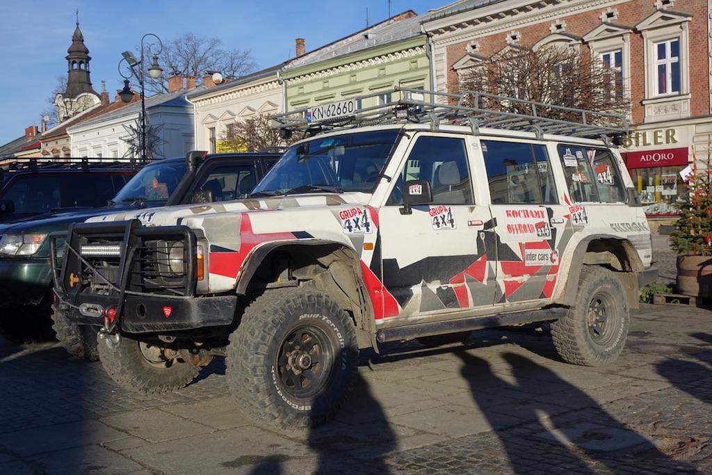 samochody 4x4 na sądeckim rynku