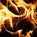 ogień, kominek, piec