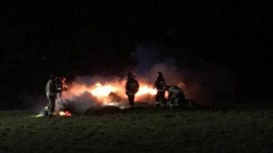 W Nowy Rok strażacy kilkukrotnie walczyli z żywiołem