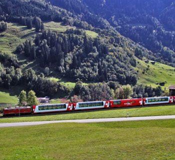 pociąg panoramiczny