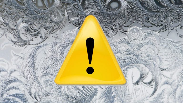ALARM POGODOWY! IMWG ostrzega: drastycznie spadnie temperatura powietrza. Idzie silny mróz