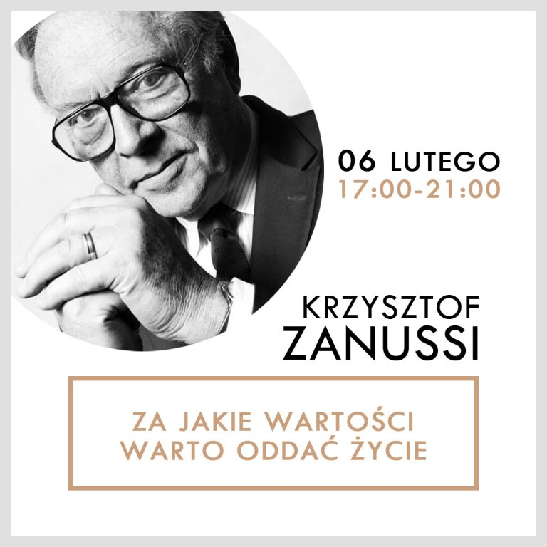 Do Nowego Sącza przyjedzie Krzysztof Zanussi. RTCK zaprasza na spotkanie z reżyserem