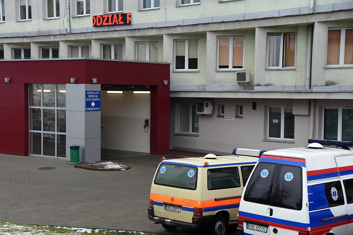 Pacjent z koronawirusem w sądeckim szpitalu? SOR zamknięty