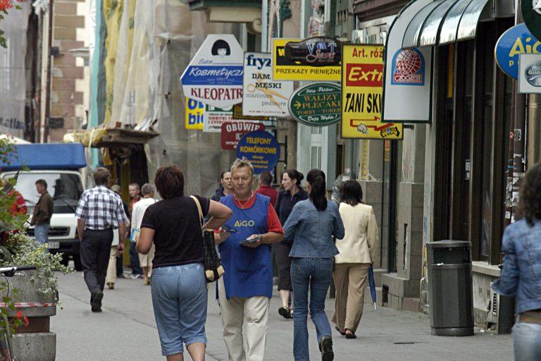 Z miasta znikają reklamy