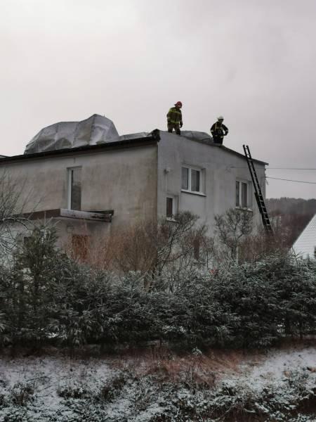 Silny wiatr na Sądecczyźnie: strażacy musieli interweniować prawie pięćdziesiąt razy!