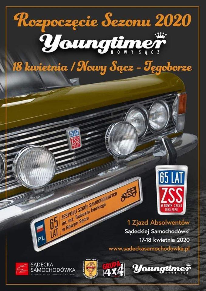 18 kwietnia, Nowy Sącz-Tęgoborze: początek sezonu Youngtyimer 2020