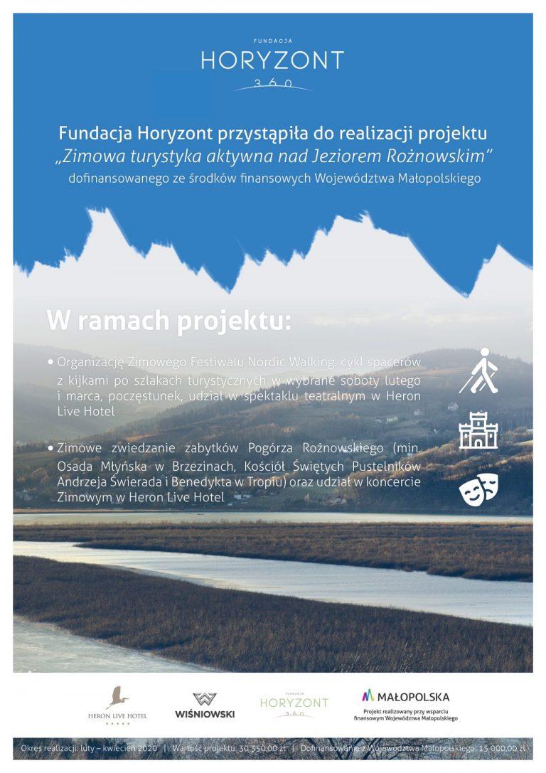 Fundacja Horyzont zaprosi do aktywnego wypoczynku nad Jeziorem Rożnowskim
