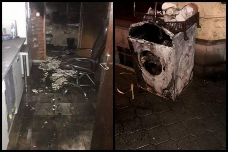 Nowy Sącz: Pod salonem fryzjerskim i gabinetem kosmetycznym wybuchł pożar