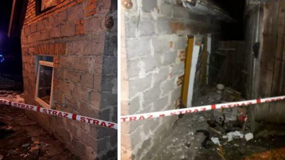 Olszanka: w budynku wybuchł gaz. Jedna osoba poszkodowana