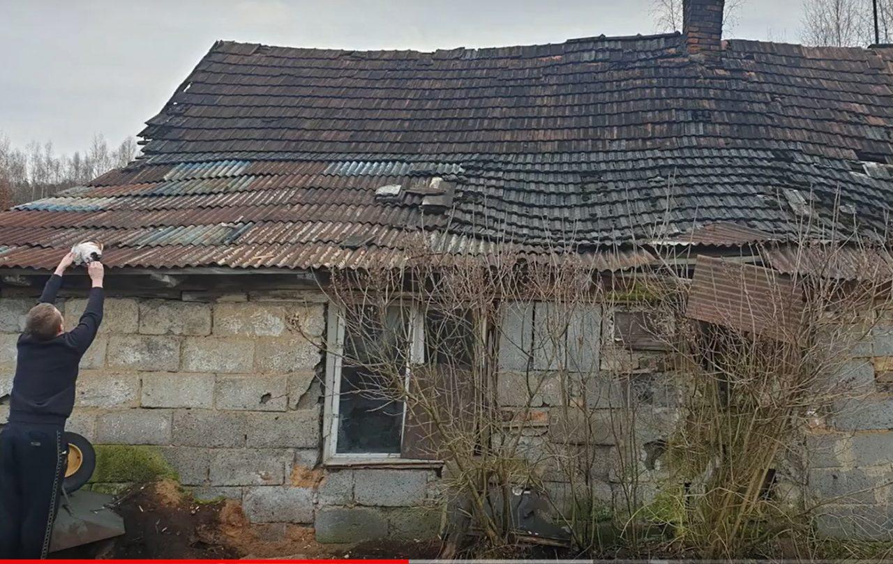 Szymon Smyda. Jego dom nadaje się do rozbiórki