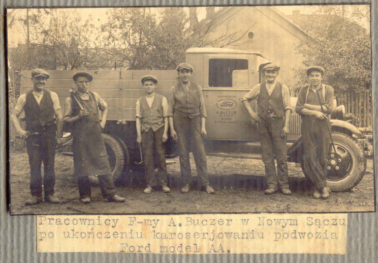 GAZETA DO SŁUCHANIA. Historia motoryzacji. W Nowym Sączu Fordy montowano