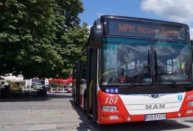 MPK Nowy Sącz, autobus