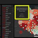 mapa koronawirus w Polsce