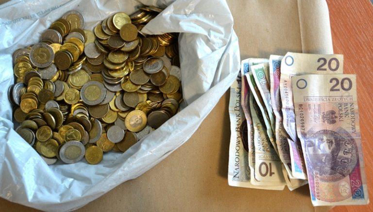Nowy Sącz: Ukradł pieniądze zbierane dla osób z niepełnosprawnościami