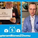 #WspieramBiznesZDomu, Krzysztof Pawłowski, Łukasz Smolarski