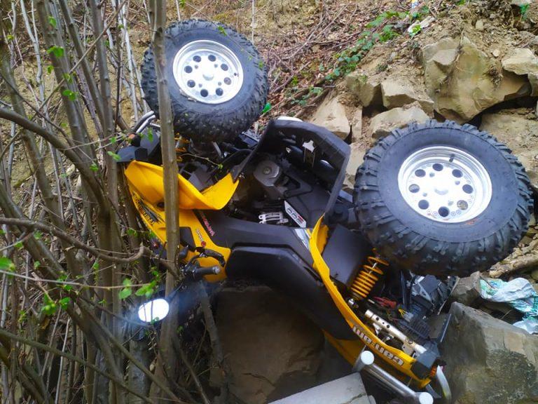 Florynka: wypadek w lesie. Poszkodowany mężczyzna trafił do szpitala