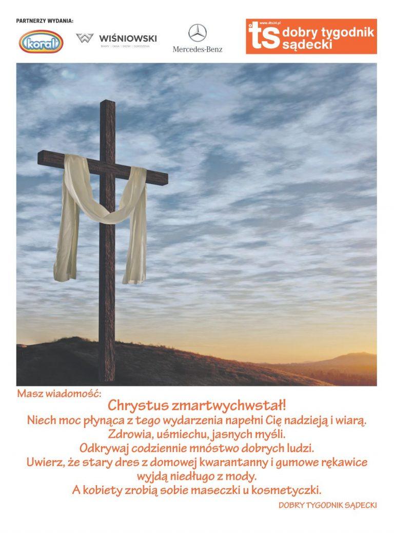 Masz wiadomość! Chrystus zmartwychwstał! Masz też numer do pobrania!